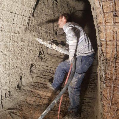 cueva gunitada